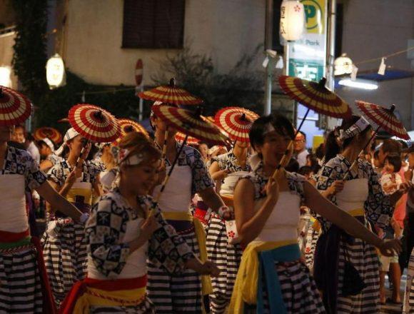 #天神祭 #宵宮 #大阪 #tenjintsuri #osaka #獅子舞 #傘踊り